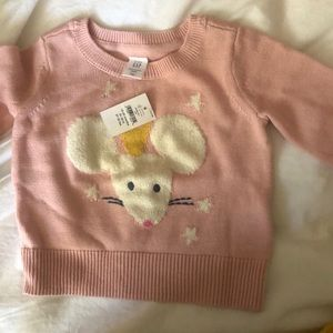 Pink sweater from babyGap